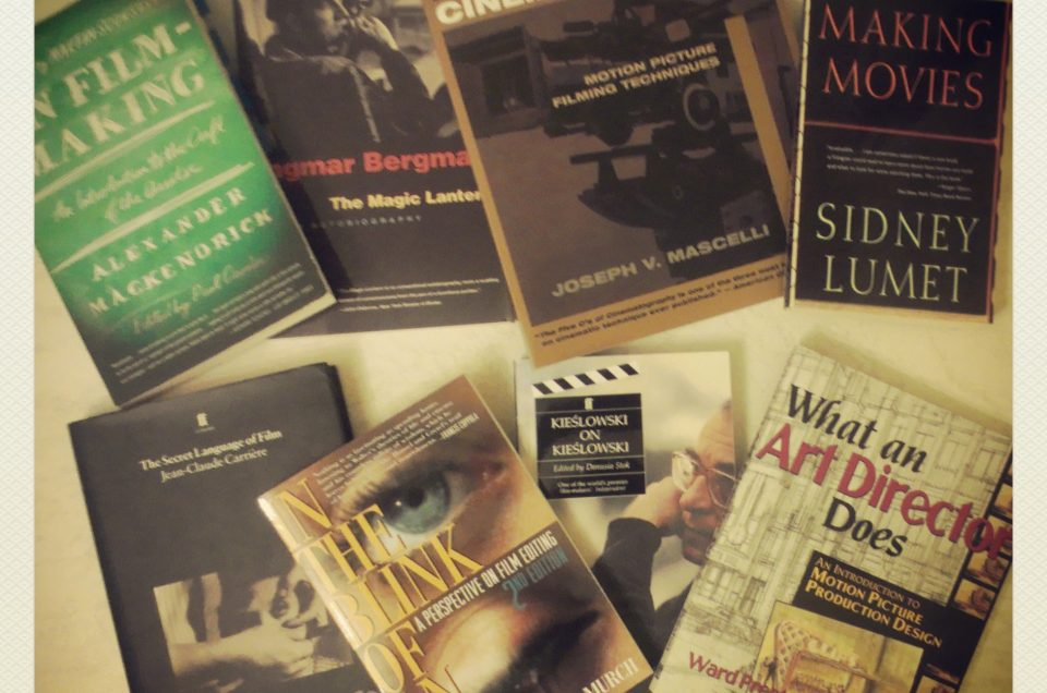 A list of books recommended for film lovers